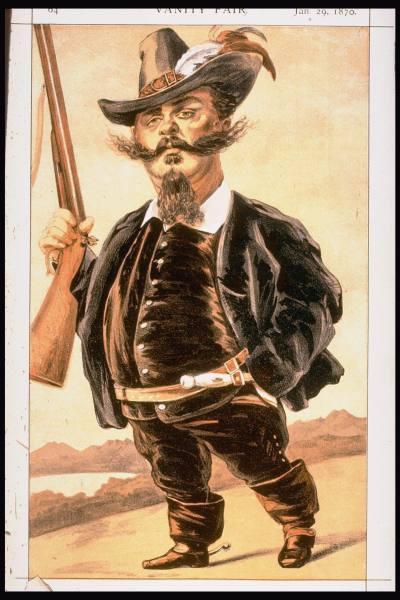 Caricature of Victor Emmanuel II of Italy, 1870 - James Tissot