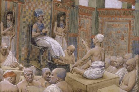 Joseph Interprets Pharaoh's Dream, c.1896 - c.1902 - James Tissot