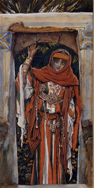 Mary Magdalene before her Conversion, 1886 - 1894 - Джеймс Тіссо