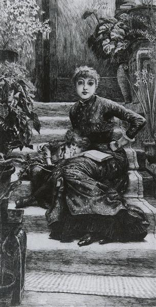 Older Sister, 1881 - James Tissot