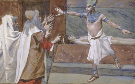 Pharaoh and His Dead Son, c.1896 - c.1902 - James Tissot