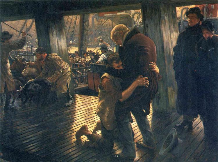 Prodigal Son, The Return, c.1882 - James Tissot