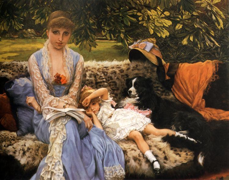 Quiet, c.1881 - James Tissot