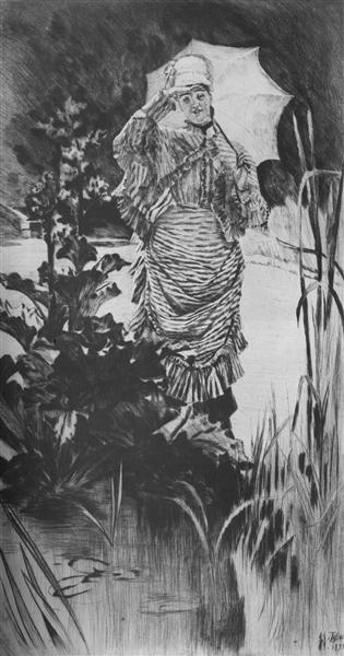 Spring Morning, 1875 - James Tissot