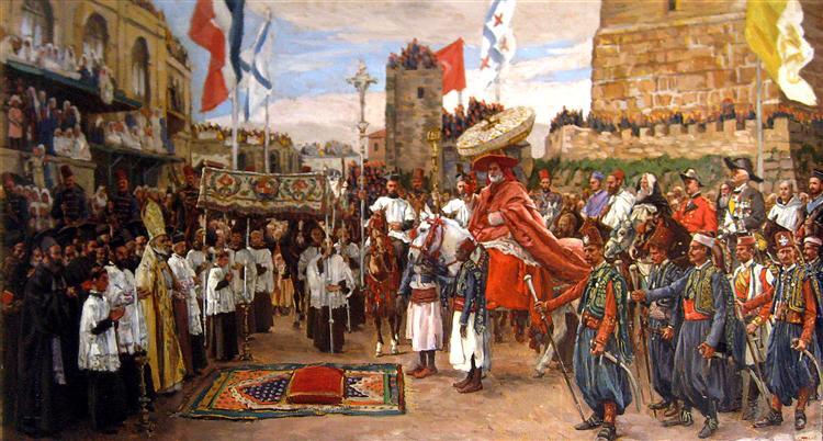 TheLatin Patriarch of Jerusalem, 1875 - James Tissot