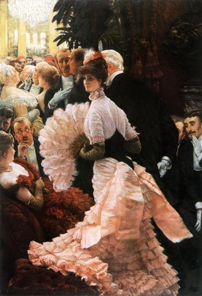 The Political Lady, 1883 - 1885 - James Tissot