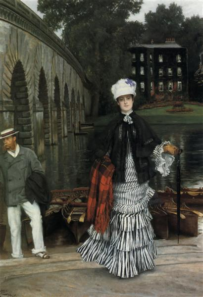 The Return from the Boating Trip, 1873 - James Tissot