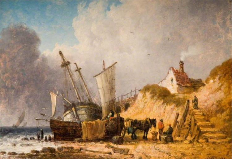 Coast Scene, 1836 - James Ward