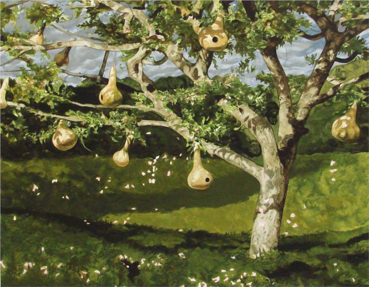 Gourd Tree, 1988 - Jamie Wyeth