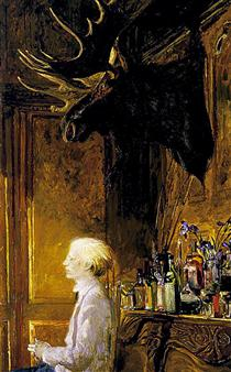 Lunch At The Factory - Jamie Wyeth