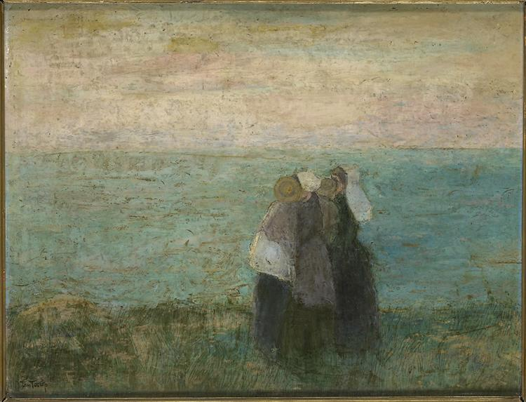 Women at the sea, c.1891 - Jan Toorop