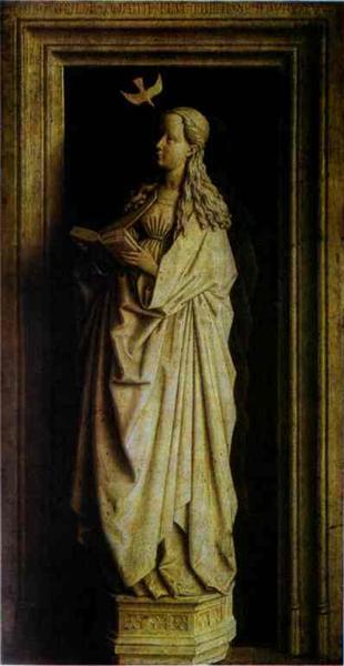 The Annunciation, 1440 - Jan van Eyck