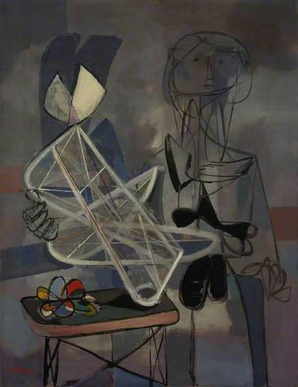Hommage à Naum Gabo (Homage to Naum Gabo), 1946