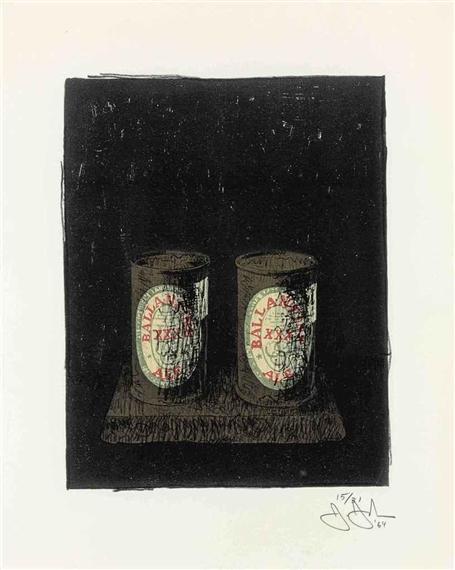 Ale Cans, 1964 - Jasper Johns