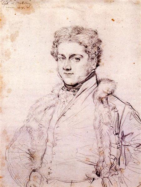 Charles Robert Cockerell, 1817 - Jean Auguste Dominique Ingres