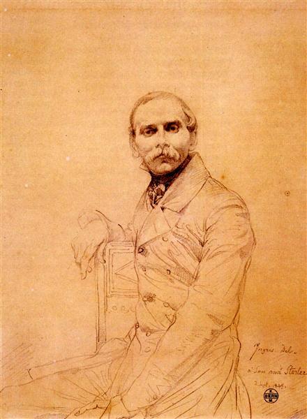 Franz Adolf von Stuerler - Jean Auguste Dominique Ingres
