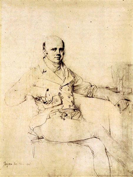 John Russel, Sixth Duke of Bedford - Jean Auguste Dominique Ingres