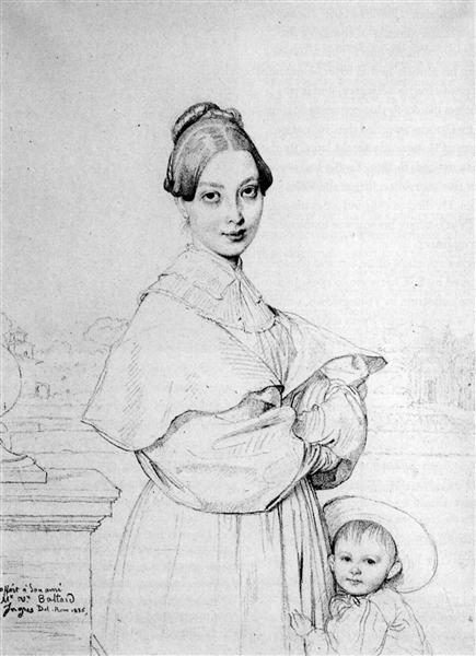 Madame Baltard and her daughter, Paule, 1836 - Jean Auguste Dominique Ingres