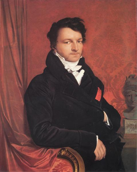 Monsieur de Norvins - Ingres Jean Auguste Dominique