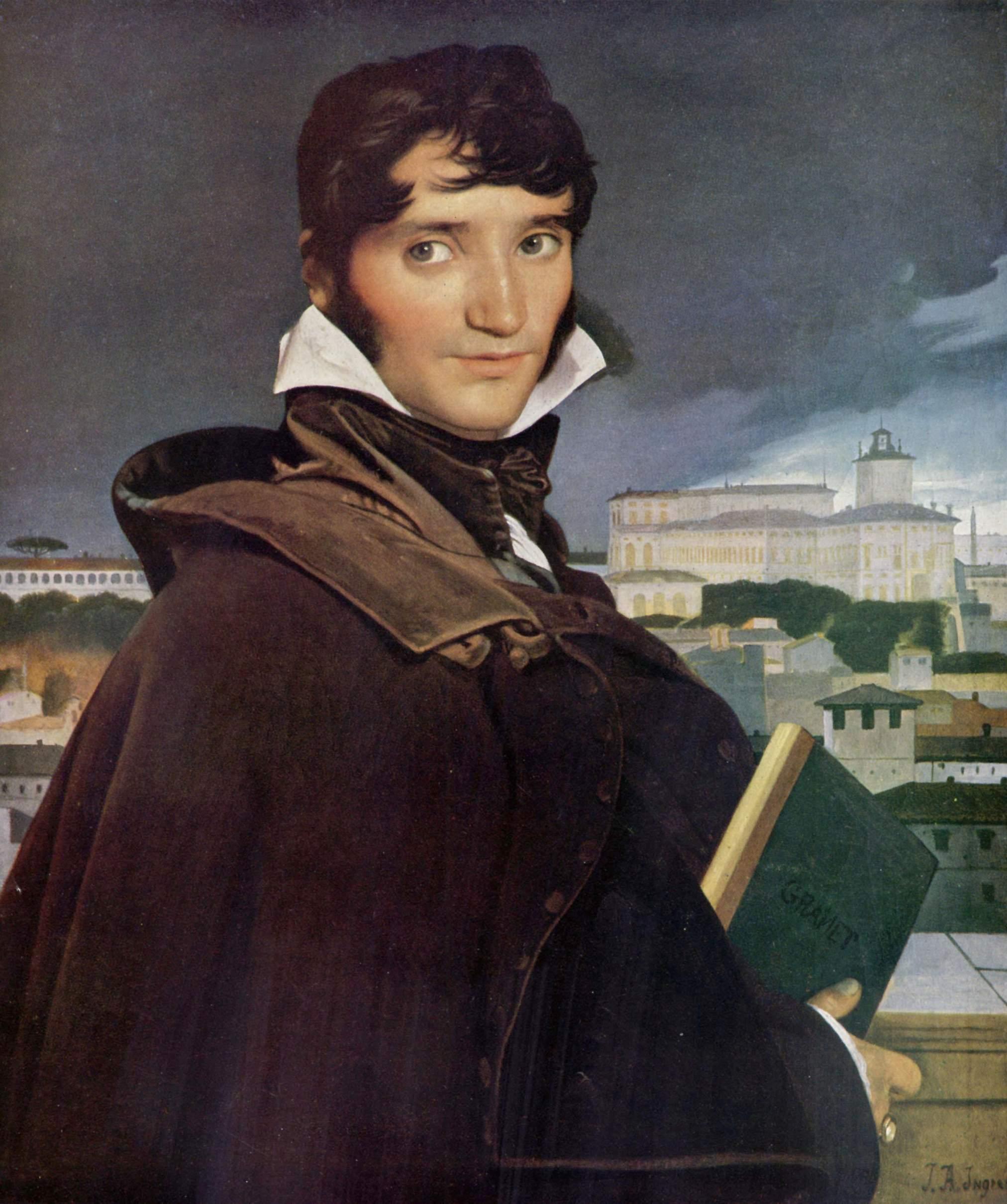 Portrait of Francois-Marius Granet, 1807