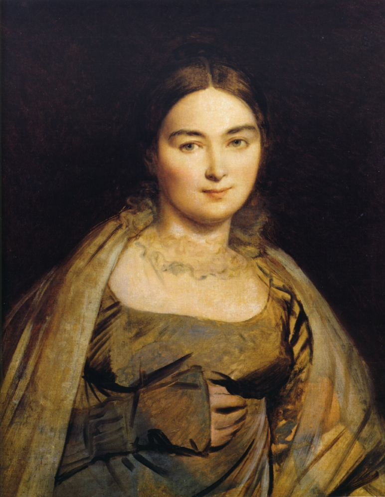 Portrait of Madame Ingres, 1815