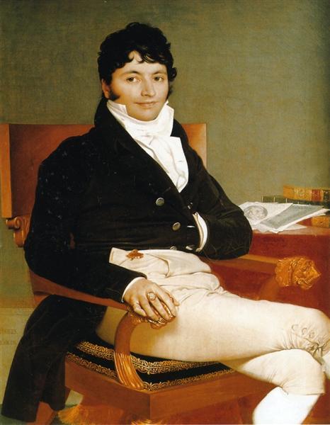 Portrait of Monsieur Rivière - Jean Auguste Dominique Ingres