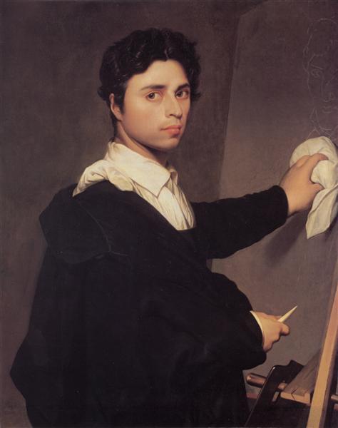 Self-Portrait, 1804 - Jean-Auguste-Dominique Ingres