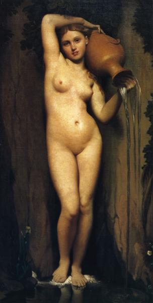 The Source, 1856 - Jean Auguste Dominique Ingres