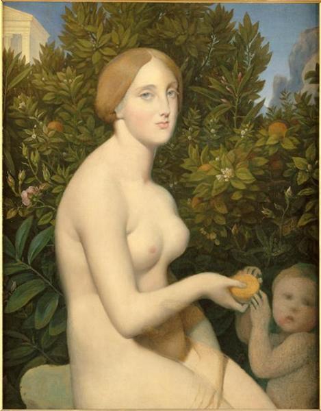 Venus at Paphos - Jean Auguste Dominique Ingres