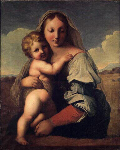 Virgin and Child, 1806 - Jean Auguste Dominique Ingres