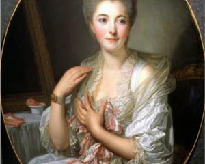 Portrait of Madame Courcelles - Jean-Baptiste Greuze