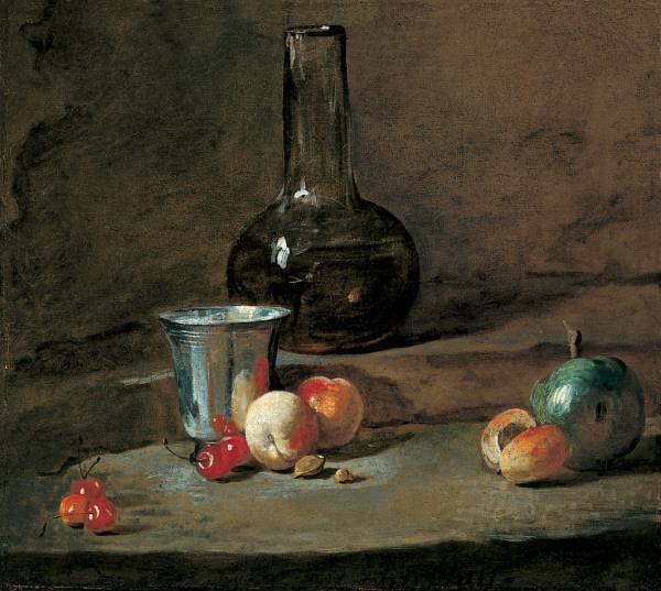 The Silver Goblet, c.1728 - Jean-Baptiste-Simeon Chardin