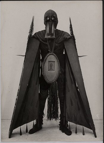 Costume for the Execution of the Testament of the Marquis de Sade, 1950 - Jean Benoit