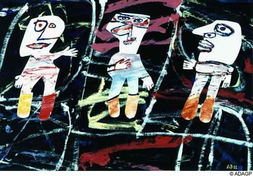 Scenic triplex, 1982 - Жан Дюбюффе