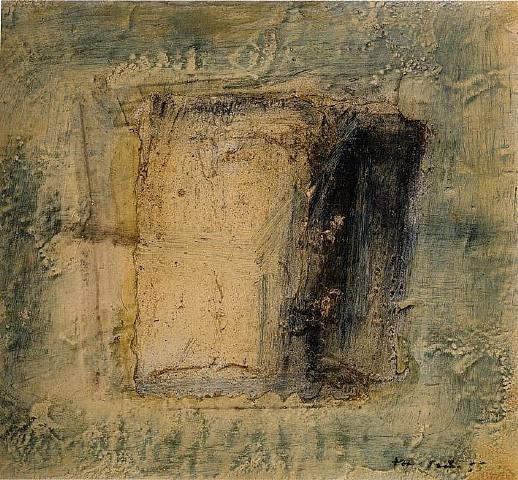 Petite boîte carée, 1955 - Jean Fautrier