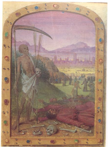 Hours of Vaucé, c.1460 - Jean Fouquet