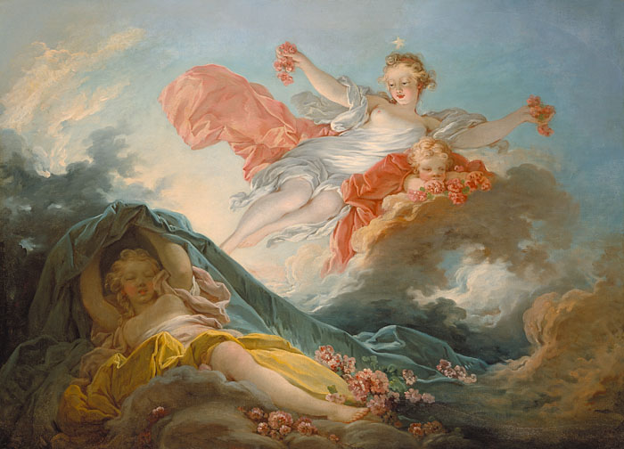 Aurore - Jean-Honore Fragonard
