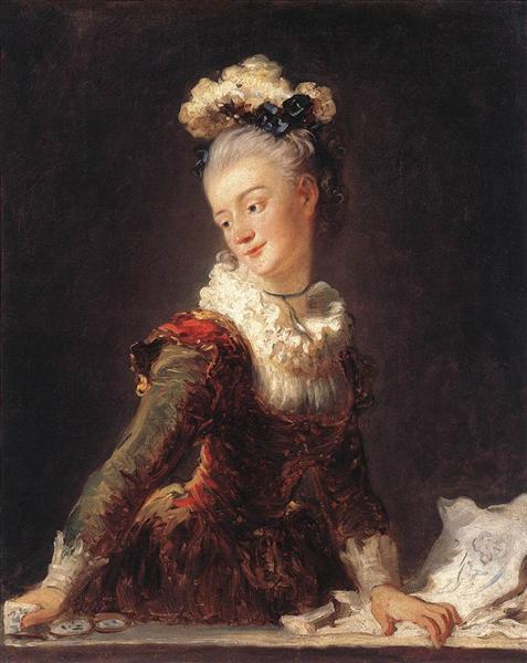 Marie Madeleine Guimard, c.1769 - Jean-Honore Fragonard