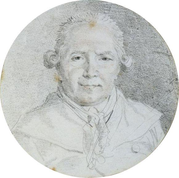 Self-portrait - Jean-Honore Fragonard