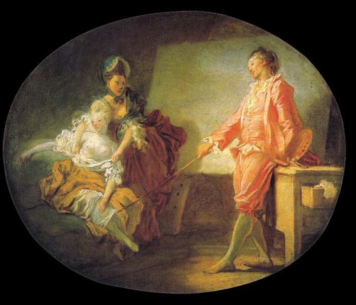 Thebeginningsofmodel - Jean-Honore Fragonard