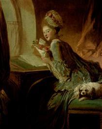 The Love Letter - Jean-Honore Fragonard