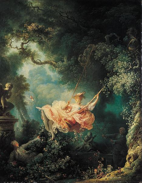 The Swing, 1767 - Jean-Honore Fragonard