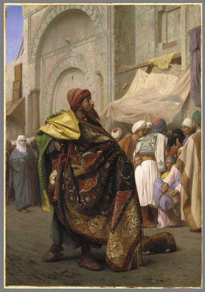 The Carpet Merchant of Cairo, c.1869 - Jean-Leon Gerome
