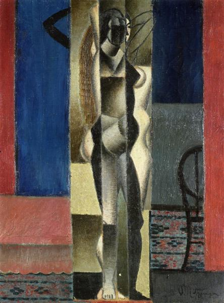 Nude in Front of a Mirror, 1912 - Jean Metzinger