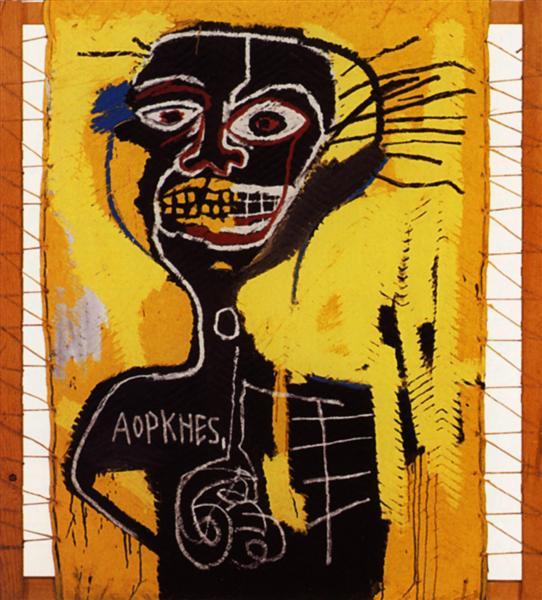 Cabeza, 1982 - Jean-Michel Basquiat