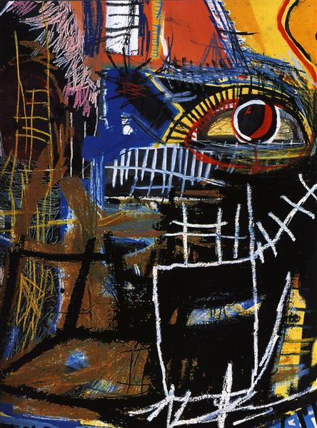 Head, 1981 - Jean-Michel Basquiat