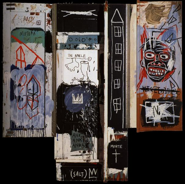 Portrait of the Artist as a Young Derelict, 1982 - Jean-Michel Basquiat