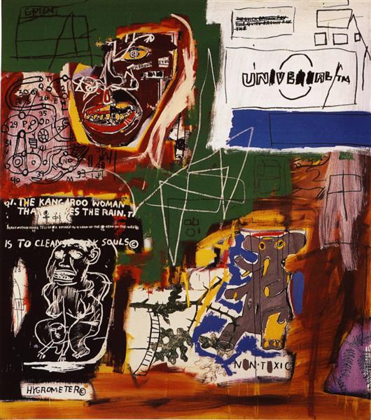 Sienna, 1984 - Jean-Michel Basquiat