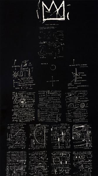 Tuxedo, 1982 - Jean-Michel Basquiat
