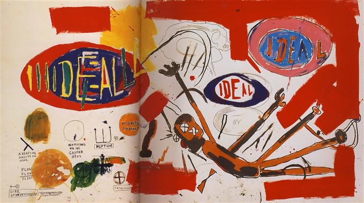 Victor, 1987 - Jean-Michel Basquiat